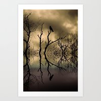 twilight Art Prints featuring Twilight by Shalisa Photography