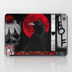 Gothic Red iPad Case