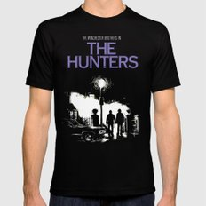 The Hunters - Winchester SMALL Black Mens Fitted Tee