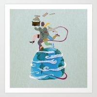 Fuga - Escape Art Print