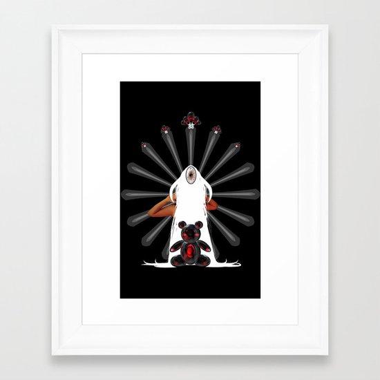 Teddy Dimension Framed Art Print
