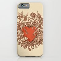 iPhone Cases featuring Heart of Thorns  by Terry Fan