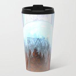 Travel Mug - abstract floral forest 2 - Bekim ART