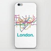 London Transit Map iPhone & iPod Skin