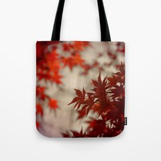 a touch of crimson Tote Bag