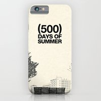 iPhone & iPod Case featuring (500) Days of Summer by Martin Lucas