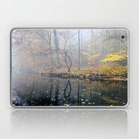 mist on the river Laptop & iPad Skin