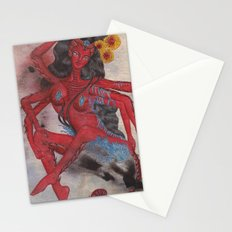 Scorpio: The Feared Revenger (Oct 23 - Nov 21) / Original Gouache On Paper Painting / Illustration Stationery Cards
