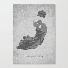 J is for Jeux d'enfants Canvas Print