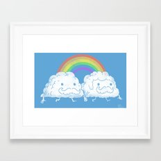 Proud Clouds Framed Art Print