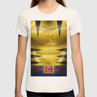 Wolverine Womens Fitted Tee Natural SMALL