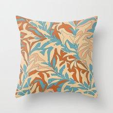 Motivo floral Throw Pillow