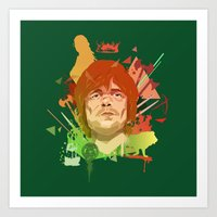 Tyrion Lannister Art Print