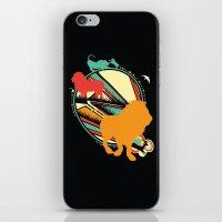 King of the Jungle iPhone & iPod Skin