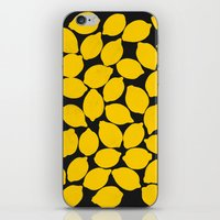 lemons 1 iPhone & iPod Skin