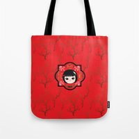 The Lunar New Year-Little girl Tote Bag