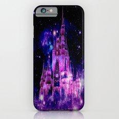 Enchanted Fairy Tale Castle Fuchsia Pink Purple Slim Case iPhone 6s