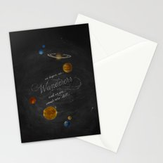 Wanderers - Carl Sagan Stationery Cards