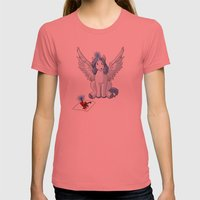 If I was a Pony Womens Fitted Tee Pomegranate SMALL