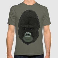 Gorilla Mens Fitted Tee Lieutenant SMALL