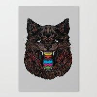 Bakeneko Canvas Print