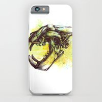 iPhone & iPod Case featuring Skull 3 by Colin Maisonpierre