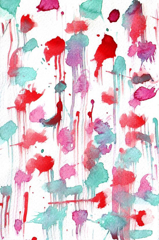 Water spots Art Print