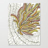 Sea Anemone Canvas Print
