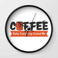 Coffee Rules Everything … Wall Clock