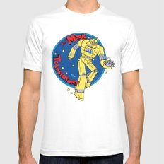 The Magic Transformer SMALL Mens Fitted Tee White