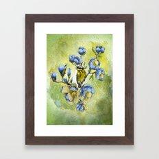 Magnolia Blues Framed Art Print