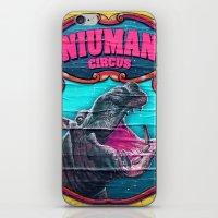 Circus Hippo iPhone & iPod Skin