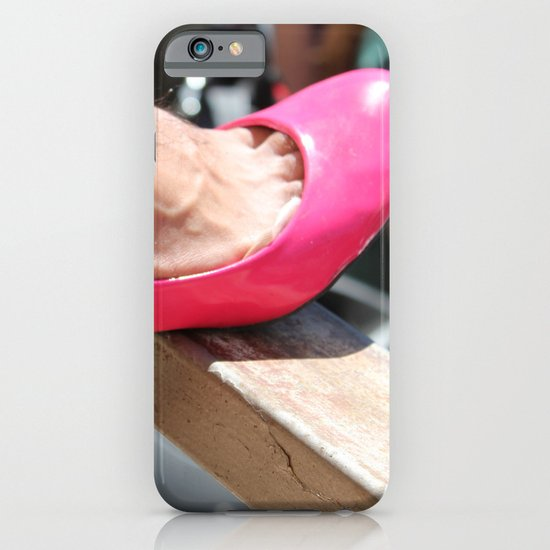 pink shoe iPhone & iPod Case