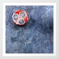 Four Circles Art Print