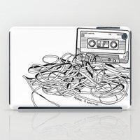 Relax & Unwind On White iPad Case