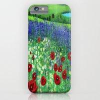 Blooming field iPhone 6 Slim Case