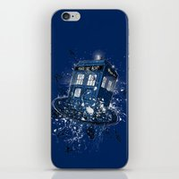 Breaking The Time iPhone & iPod Skin