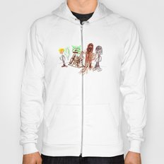 Space Opera in Crayon Hoody