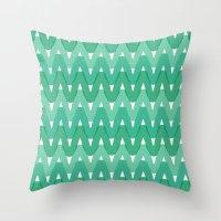 Summer Pattern 7 (Fresh Cut Grass) Throw Pillow