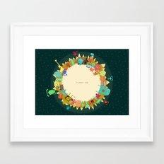 Planet One Framed Art Print
