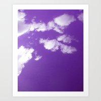 Purple Day Art Print