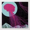 Free Yo Mind Canvas Print
