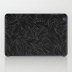 My black leaves iPad Case