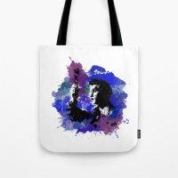 Elvis Color Splash Tote Bag
