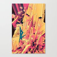 Break Up Canvas Print