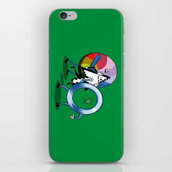 System bullies iPhone & iPod Skin
