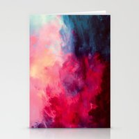 nebula Stationery Cards featuring Reassurance by Caleb Troy