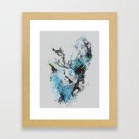 Chaos Thinking Framed Art Print
