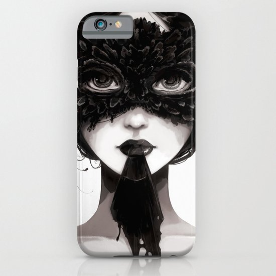 La veuve affamee iPhone & iPod Case