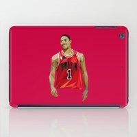 Geometric Rose iPad Case